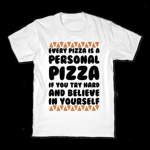 Personal Pizza Kids T-Shirt