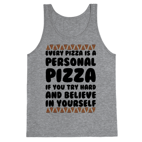 Personal Pizza Tank Top
