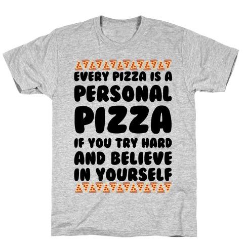 Personal Pizza Mens/Unisex T-Shirt