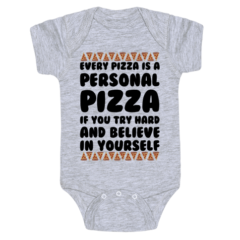 Personal Pizza Baby Onesy