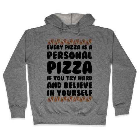 Personal Pizza Hooded Sweatshirt
