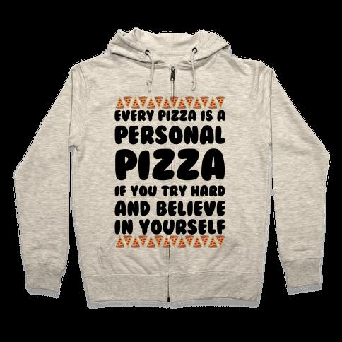 Personal Pizza Zip Hoodie