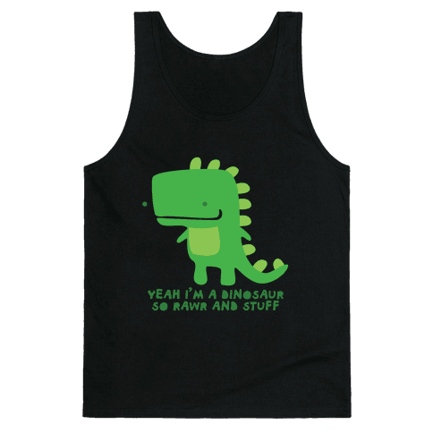 Rawr and Stuff Tank Tank Top