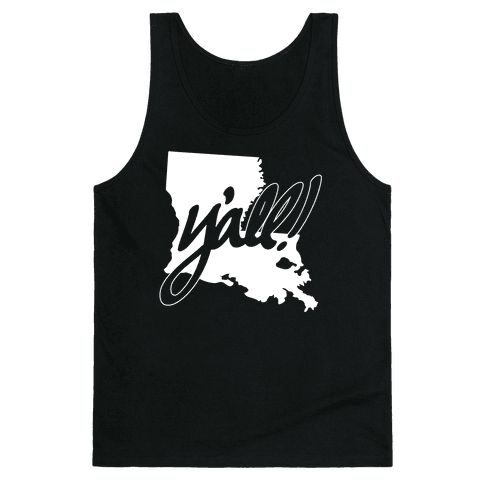 Y'all! (Louisiana) Tank Top