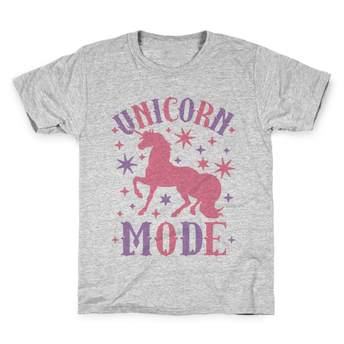 Unicorn Mode Kids T-Shirt