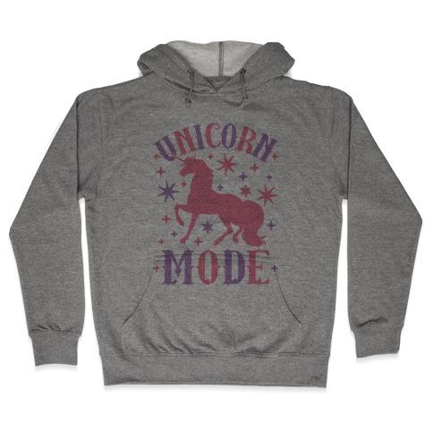 Unicorn Mode Hooded Sweatshirt