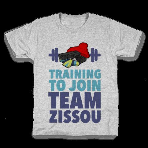 Training to Join Team Zissou Kids T-Shirt