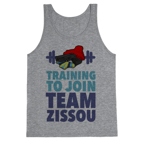 Training to Join Team Zissou Tank Top