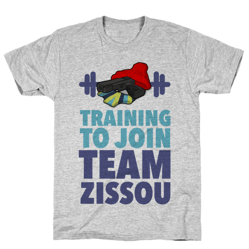 Training to Join Team Zissou Mens T-Shirt