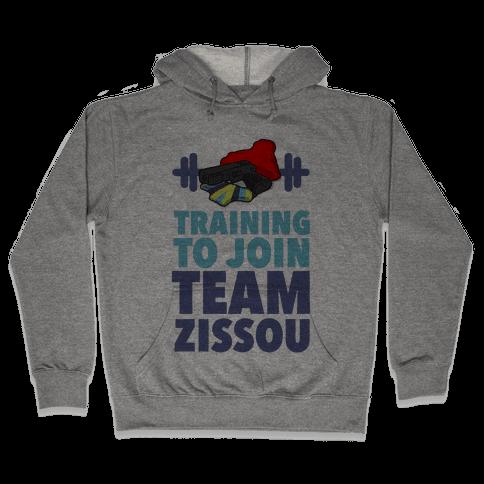Training to Join Team Zissou Hooded Sweatshirt
