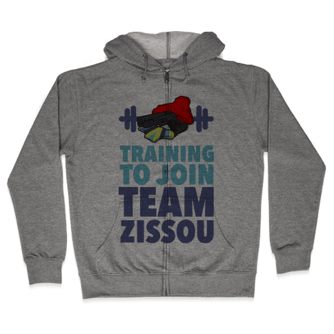 Training to Join Team Zissou Zip Hoodie