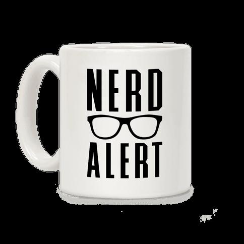 Nerd Alert Coffee Mug