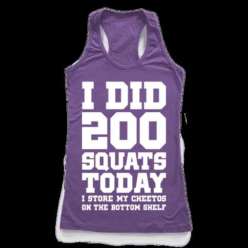 I Did 200 Squats Today