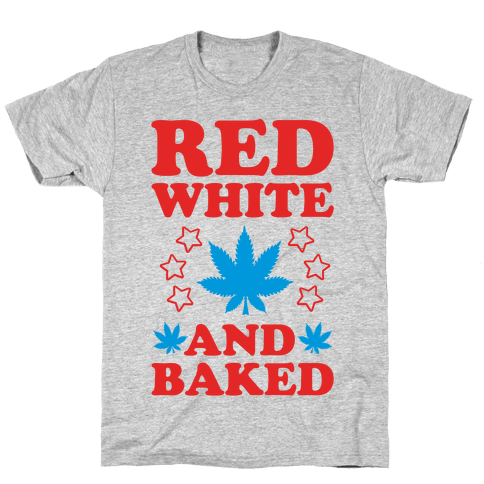 Red White and Baked Mens T-Shirt