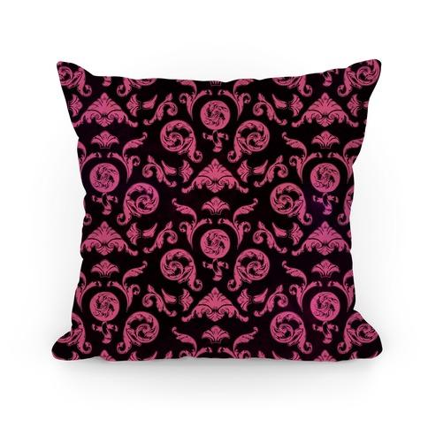 Female Toile Pillow