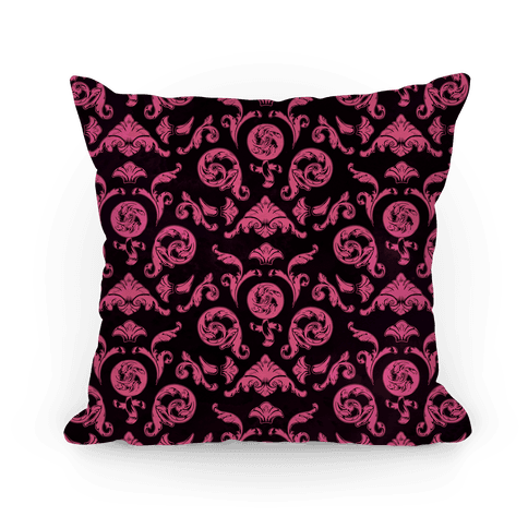 Female Toile Pillow