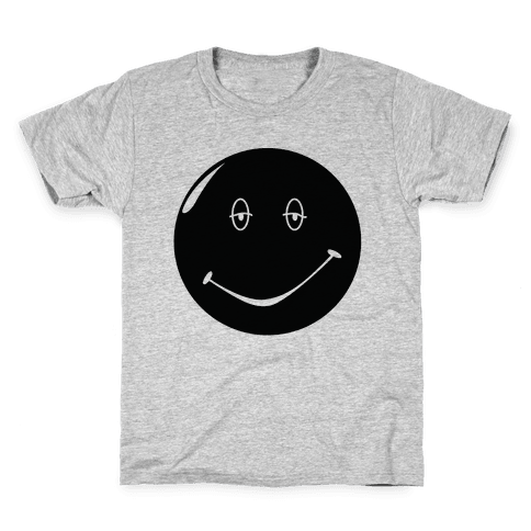 Dazed and Confused Stoner Smiley Face Kids T-Shirt