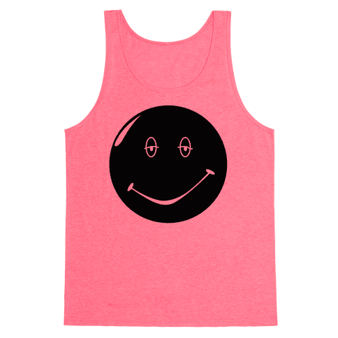 Dazed and Confused Stoner Smiley Face Tank Top
