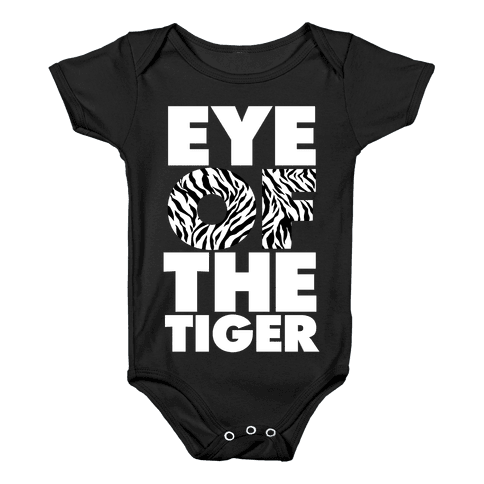 Eye Of The Tiger Baby Onesy
