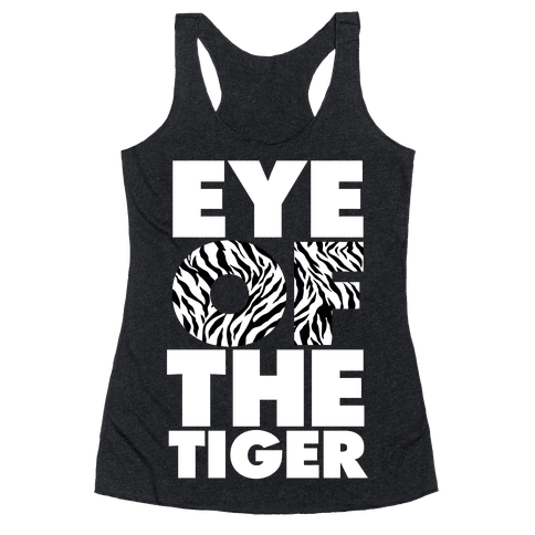 Eye Of The Tiger Racerback Tank Top