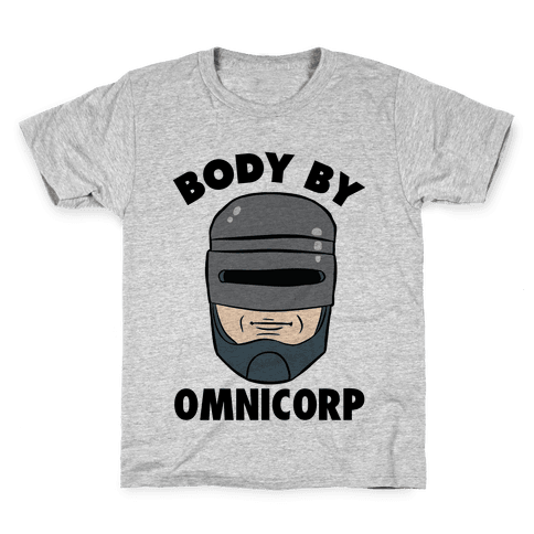 Body By Omnicorp Kids T-Shirt