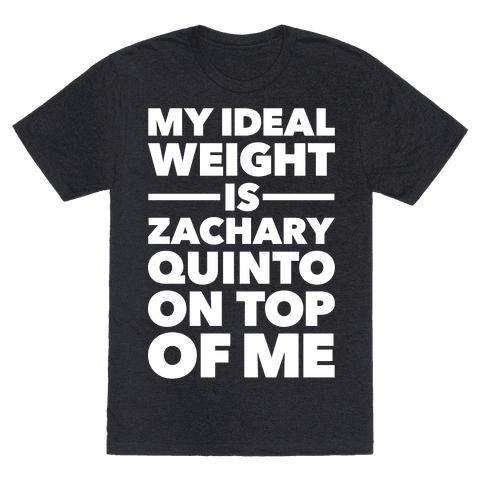 Ideal Weight (Zachary Quinto)