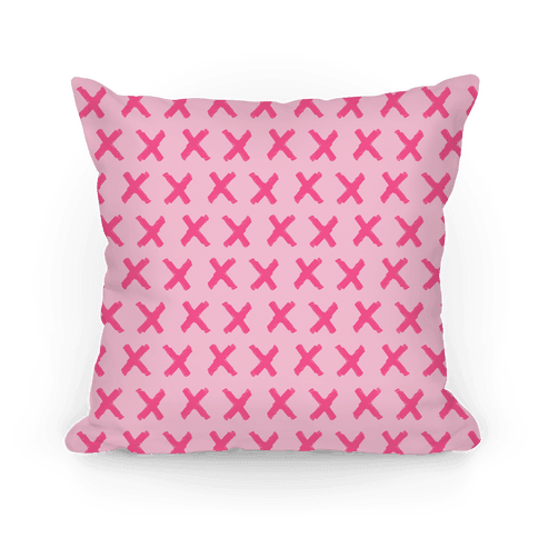 Pink Criss Cross Pattern