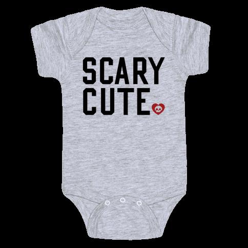 Scary Cute Baby Onesy