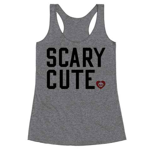 Scary Cute Racerback Tank Top