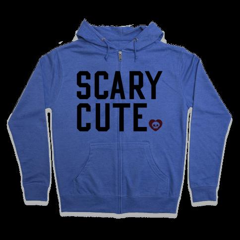 Scary Cute Zip Hoodie