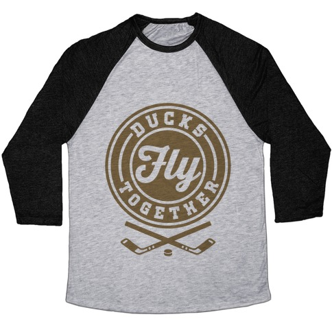Ducks Fly Together Baseball Tee