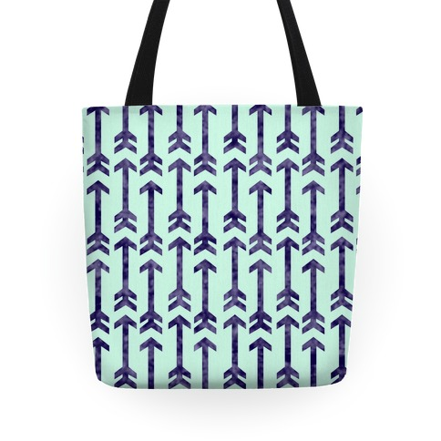 Arrow Pattern Tote