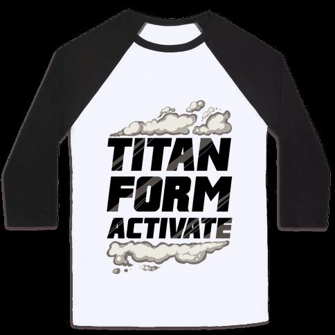 Titan Form Activate Baseball Tee