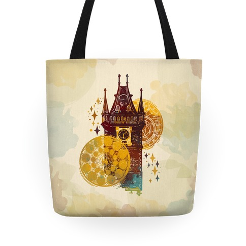 Prague Astronomical Clock Tote
