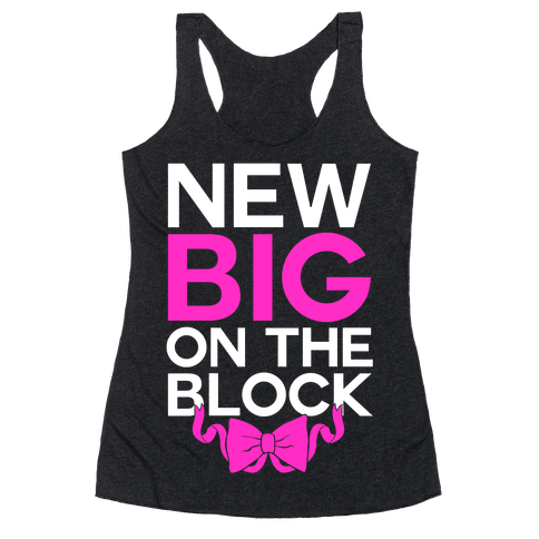 New Big On The Block Racerback Tank Top