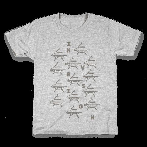 UFO Invasion Kids T-Shirt