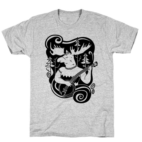 Indie Rock Moose T-Shirt