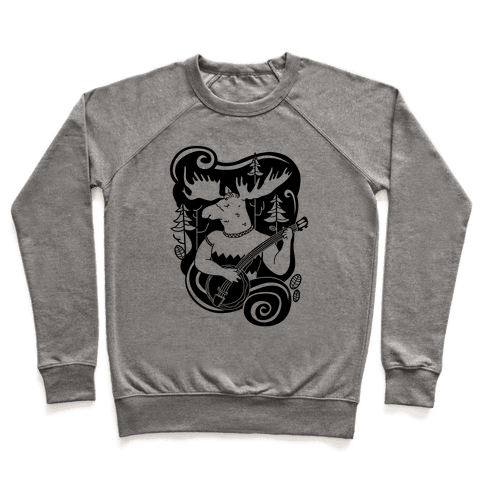 Indie Rock Moose Pullover