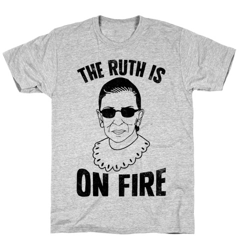 The Ruth Is On Fire (Vintage) T-Shirt