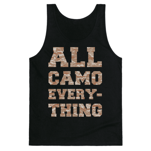 All Camo Everything Tank Top