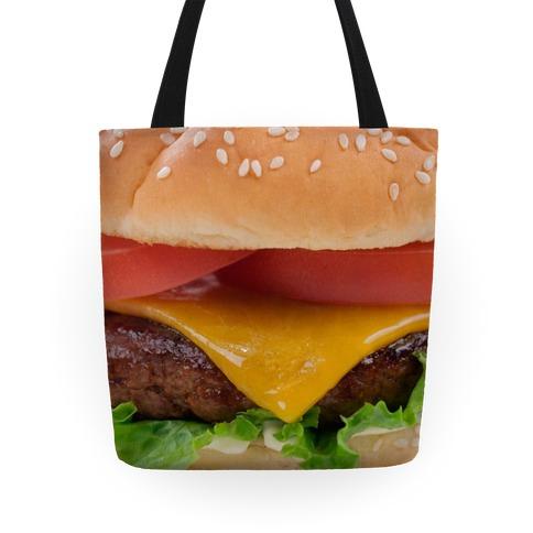 Cheeseburger Tote Tote
