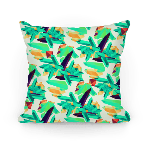Crystal Pattern Pillow
