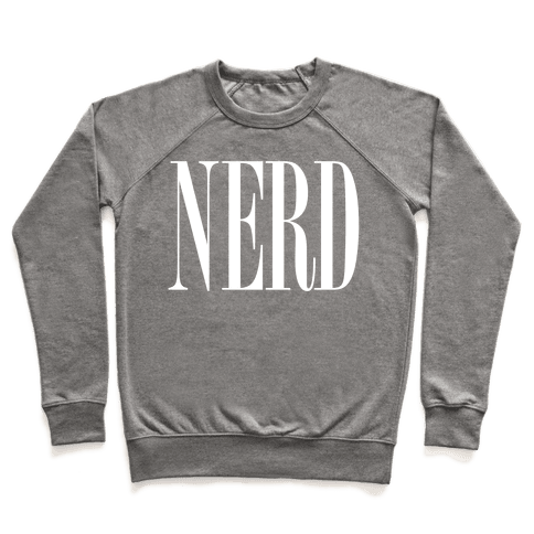 Nerd (Text) Pullover