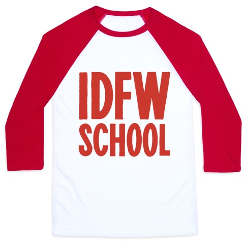 IDFW School Baseball Tee