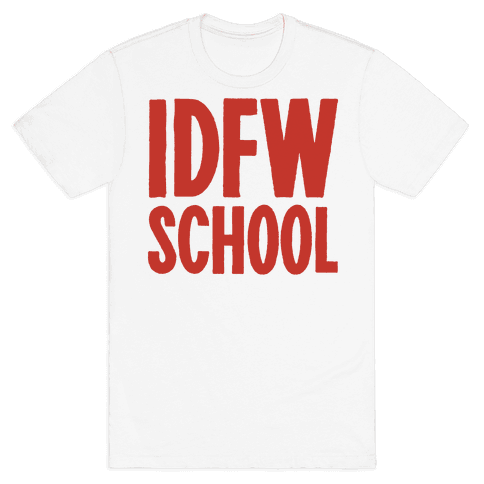 IDFW School Mens T-Shirt