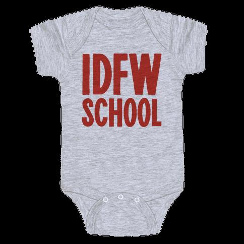 IDFW School Baby Onesy