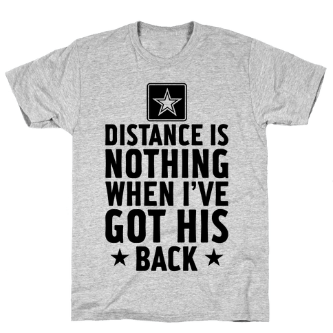 I've Got His Back (Army) Mens T-Shirt