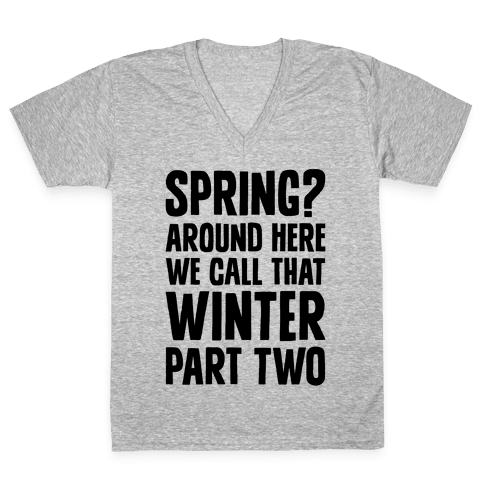 Winter Part Two V-Neck Tee Shirt