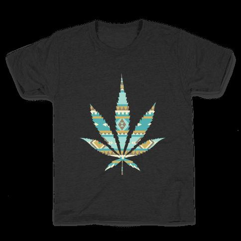 Navajo Leaf Kids T-Shirt