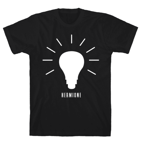Hermione's Bulb (Friend Set) Mens T-Shirt